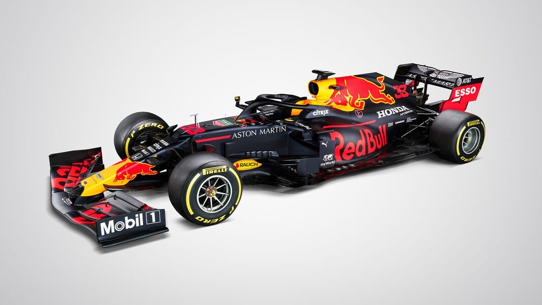 Red Bull RB16 lateral