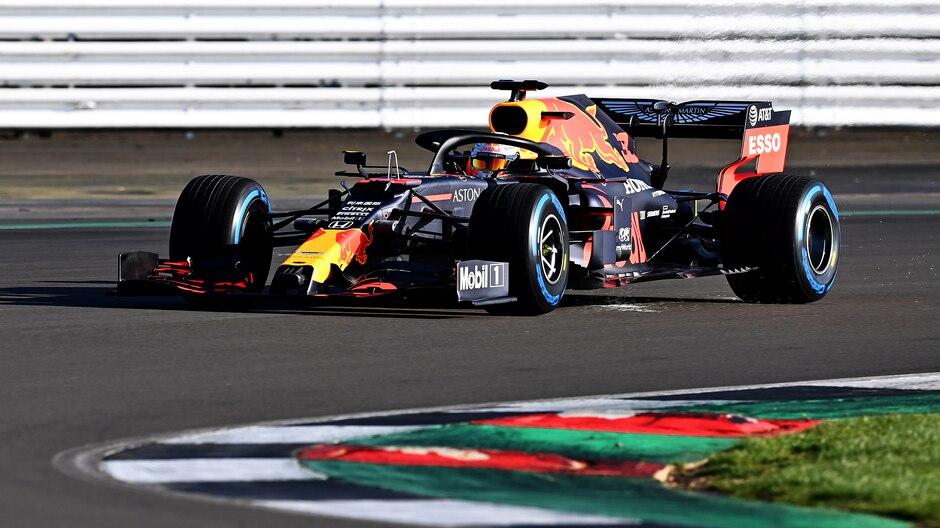 Red Bull RB16 pista