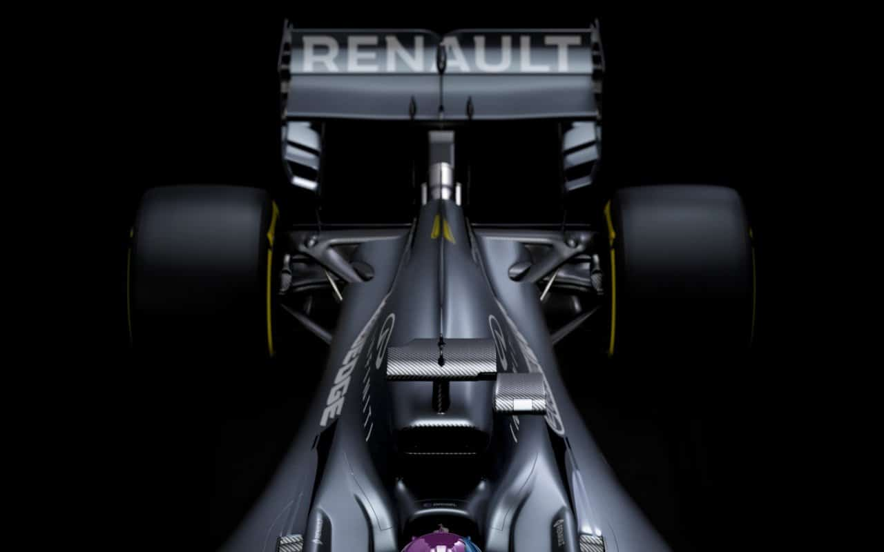 Renault RS20 trasera