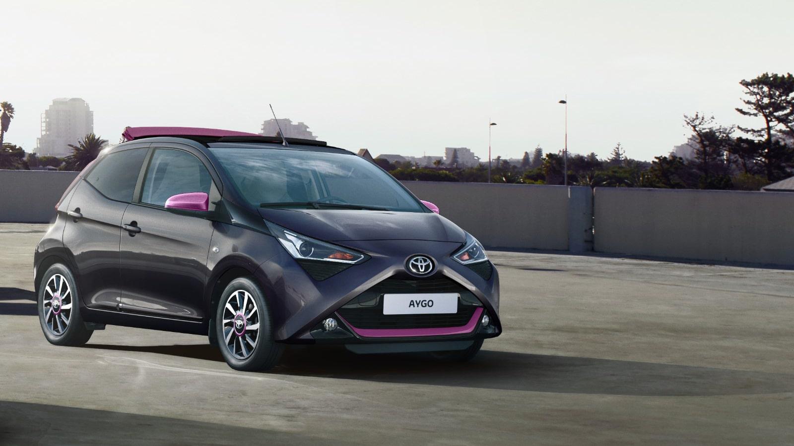 Toyota Aygo coche automático pequeño