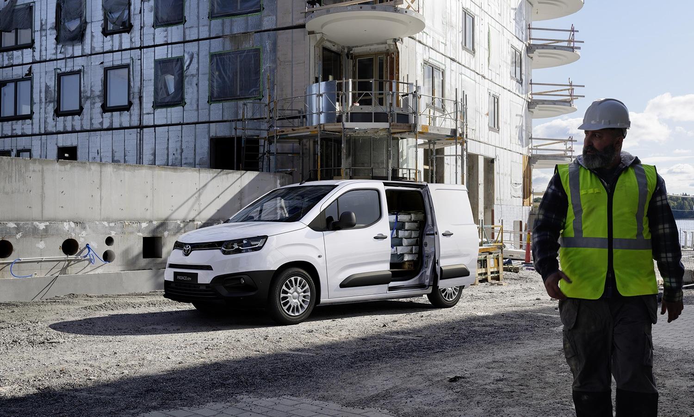 Toyota Proace City para trabajadores