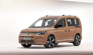 Volkswagen Caddy 2020 perfil delantero