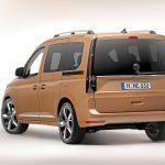 Volkswagen Caddy 2020 perfil trasero