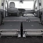 Volkswagen Caddy 2020 maletero con asientos tumbados