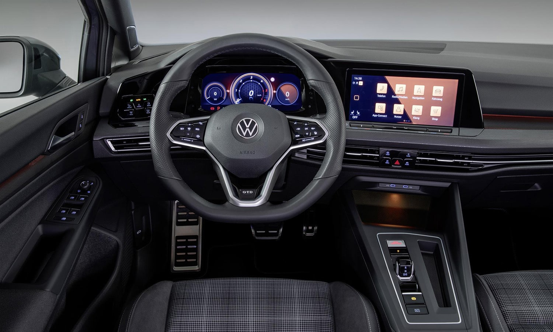 Interior Volkswagen Golf GTD 2020