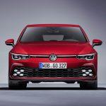 Frontal del Volkswagen Golf GTI mkviii