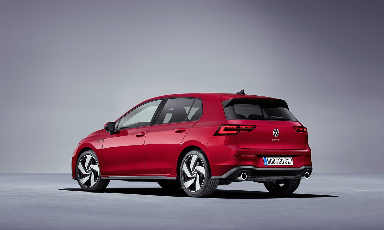 Volkswagen Golf GTI perfil trasero