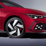 Detalle lateral delantero Volkswagen Golf GTI 2020