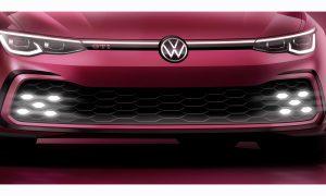 Teaser del Volkswagen Golf GTI antes de su presentación en Ginebra