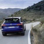 Dinámica trasera del Volkswagen Touareg R