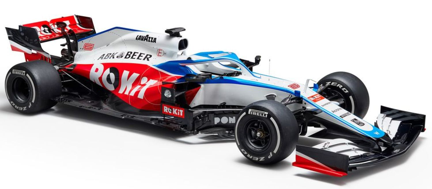 Williams FW43 frontal lateral