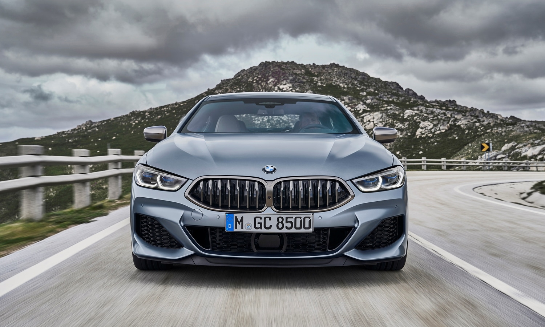 BMW Serie 8 Gran Coupé front