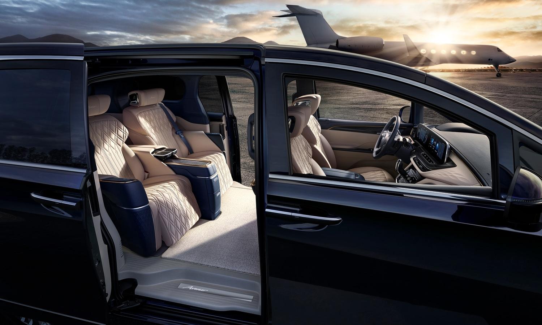 Buick GL8 Avenir four seats concept 2020