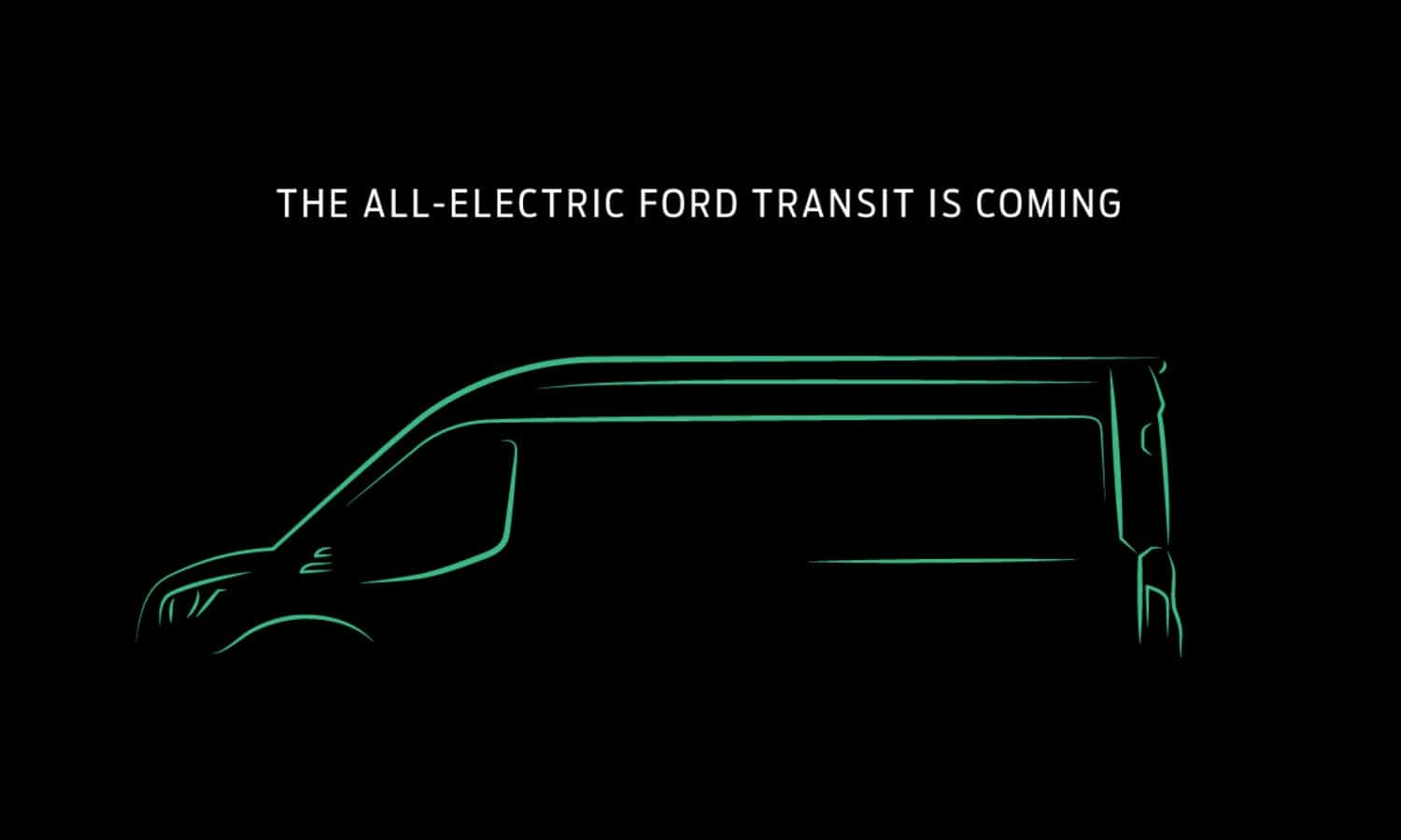 Ford Transit all electric