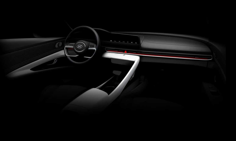 Hyundai Elantra 2021 - World Premiere Eventin Hollywood inside