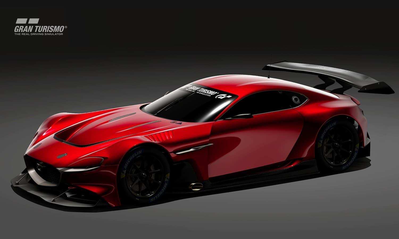 Mazda RX-Vision GT3 Concept Gran Turismo side