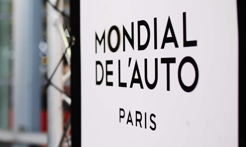 Mondial Paris Motor Show 2020 - Salón del Automóvil de París 2020 logo