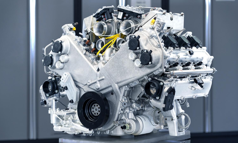 New Aston Martin Valhalla 3.0 V6 Twin-Turbo engine