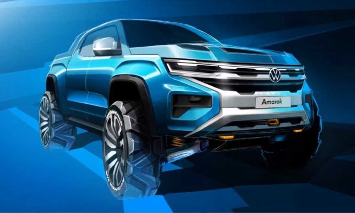 New Volkswagen Amarok teaser