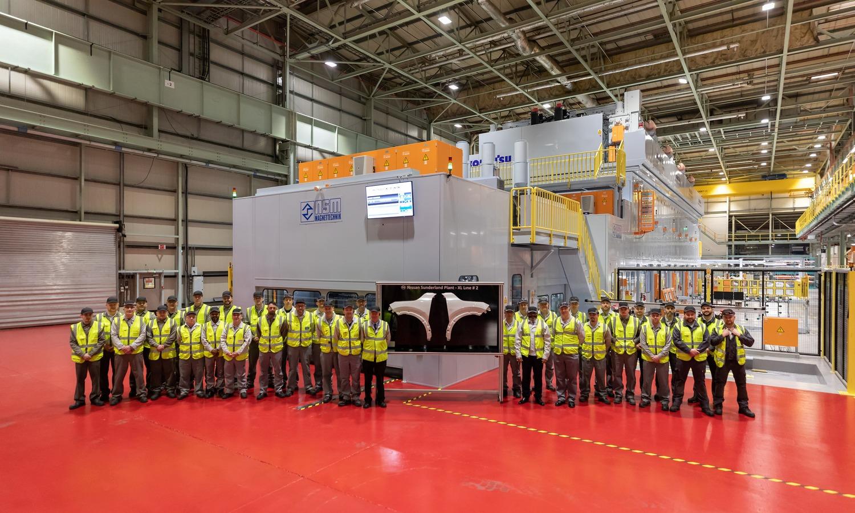 Nissan Qashqai XL Press de Sunderlands Plant