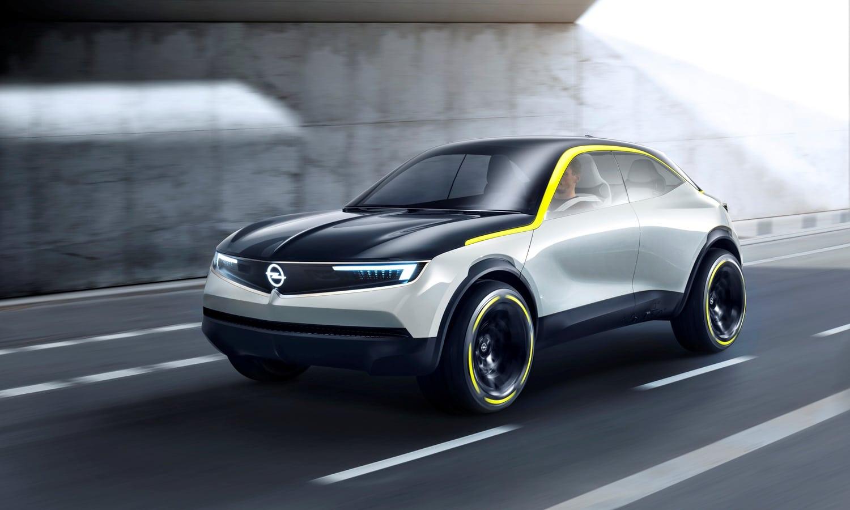 Opel GT X Experimental front
