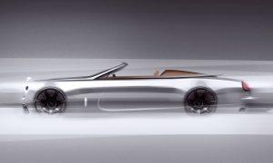 Rolls-Royce Dawn Silver Bullet 2020 teaser side