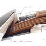 Rolls-Royce Dawn Silver Bullet 2020 teaser sketch