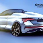 Skoda Scala Spyder rear teaser