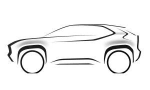 Toyota B-SUV Subcompact Crossover teaser