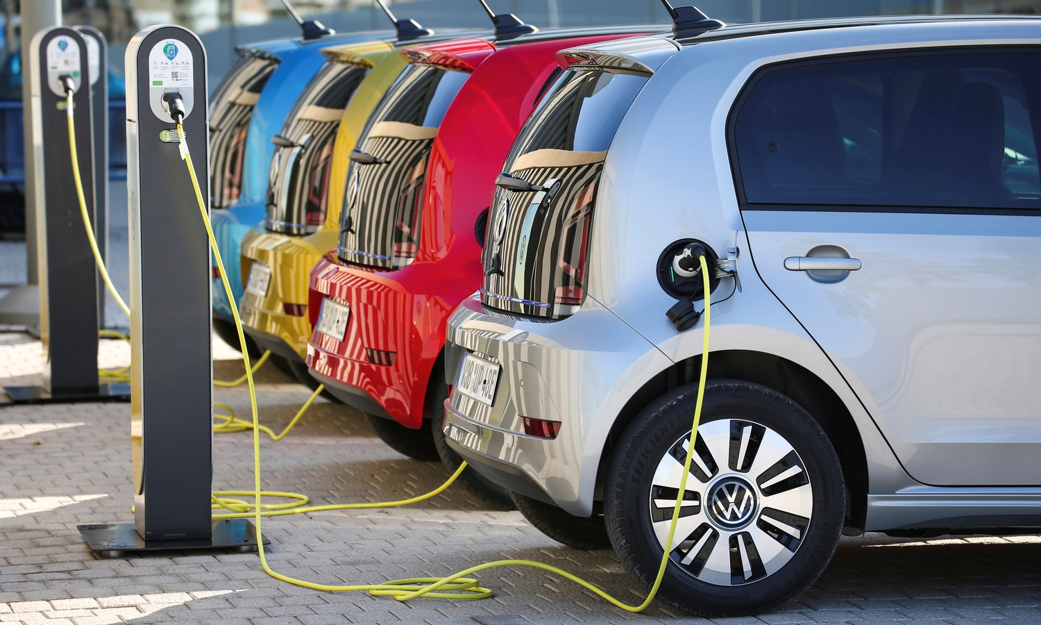 Volkswagen e-Up! charge