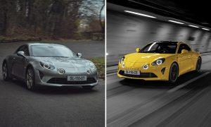 Alpine A110 Legende GT y Alpine A110 Color Edition 2020