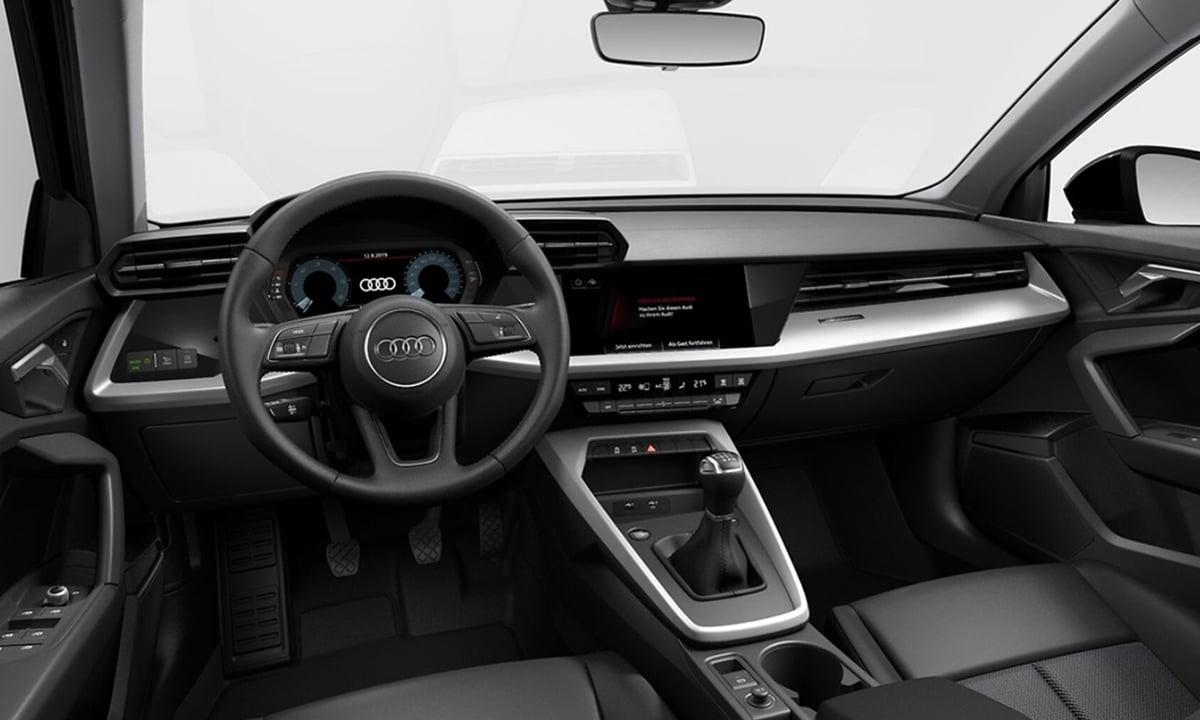 Interior Audi A3 basico