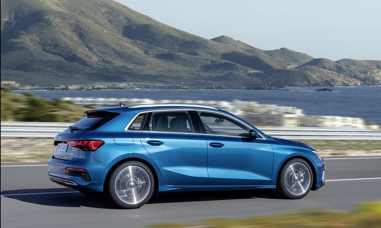 Audi A3 dinámica lateral