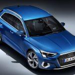 Perfil superior del Audi A3 2020