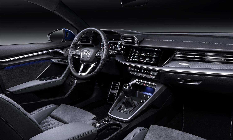 Diseño interior del Audi A3 2020