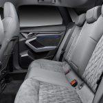 Audi A3 asientos traseros tapicería clara