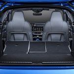 Maletero del Audi A3 con asientos tumbados