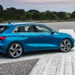 Audi A3 Sportback cuarta generación lateral