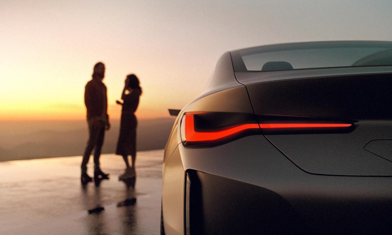 BMW Concept i4 detalle luz trasera