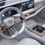 Interior del BMW i4 Concept
