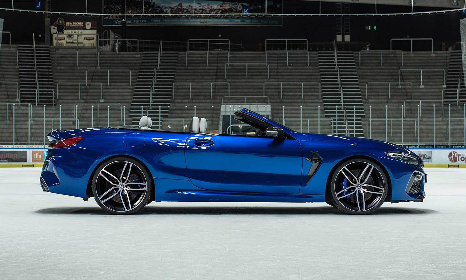 BMW M8 preparado por G-Power lateral
