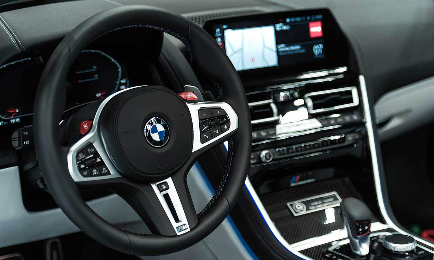 Interior BMW M8 G-Power
