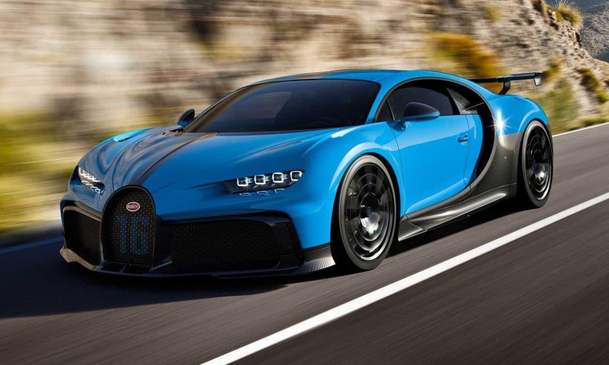 Un comportamiento más agradable en curva para el Bugatti Chiron Pur Sport