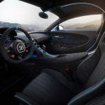 Interior del Bugatti Chiron Pur Sport
