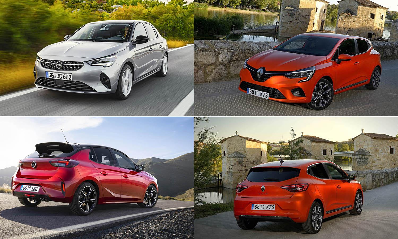 Comparativa de Opel Corsa y Renault Clio