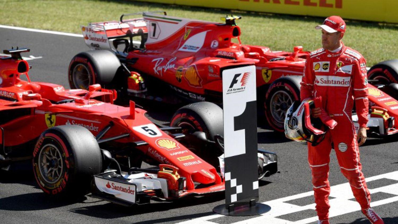 Vettel y Ferrari