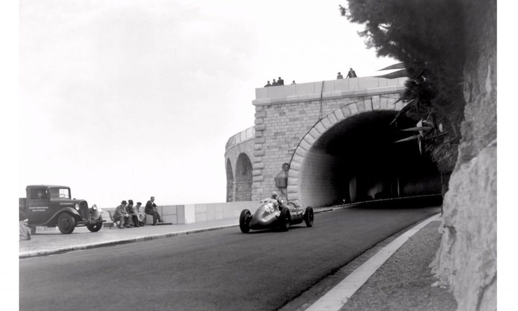 GP de Mónaco túnel