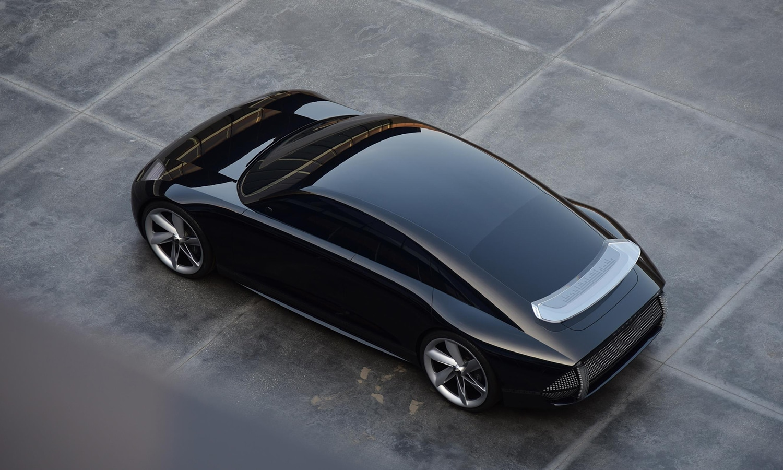 Parte trasera Hyundai Prophecy