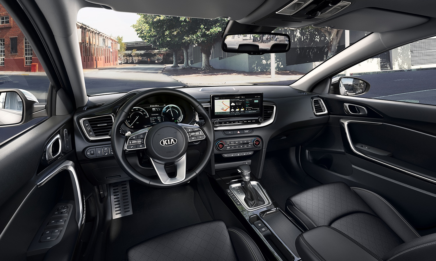 Kia XCeed híbrido enchufable interior