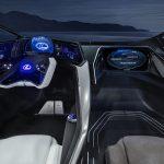 Lexus LF-30 Electrified salpicadero